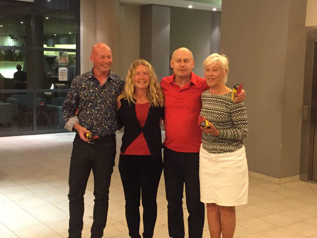 Andrapriset tog Camilla, Annika, Bengt och Sven-Inge.