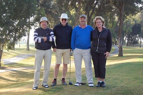 Lars,Sven,Mats och Elisabeth var också spelsugna.