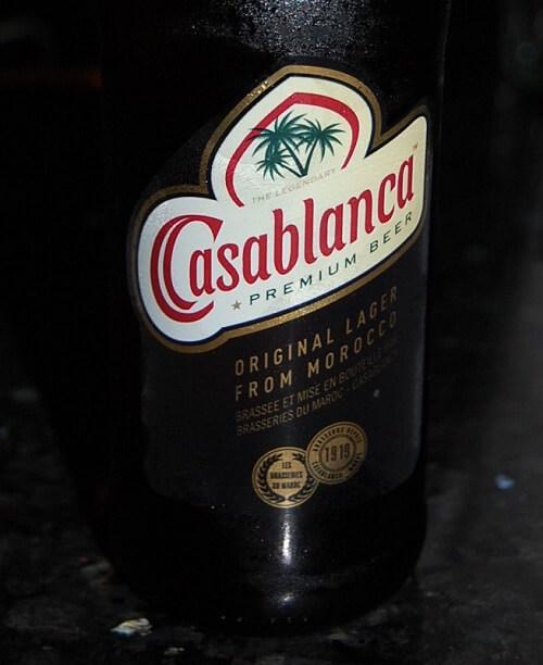 Sköljs med fördel ned med en iskall Casablanca!