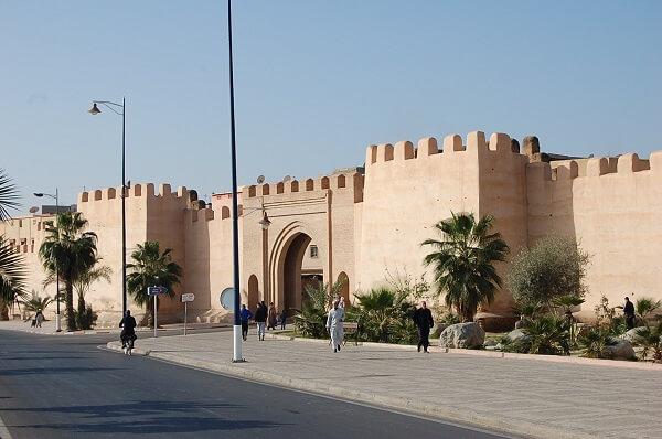 Stadsmuren runt Taroudant, ca 8 km lång.