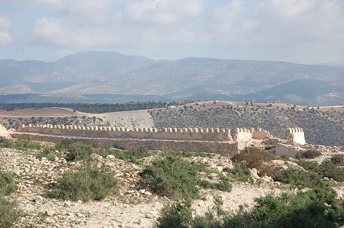 Efter det åkte vi upp till Kasbahn. Här låg det gamla Agadir innan en jordbävning 1960 skövlade det mesta av Kasbahn. 20.000 människor omkom i en jordbävning som varade i ca 30 sekunder.