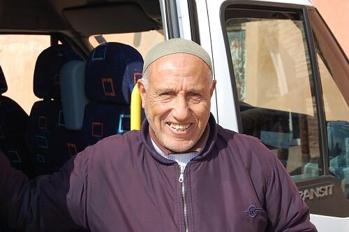 På onsdagen tog vår suveräne chaufför Ahmed med oss på en rundtur i Agadir.