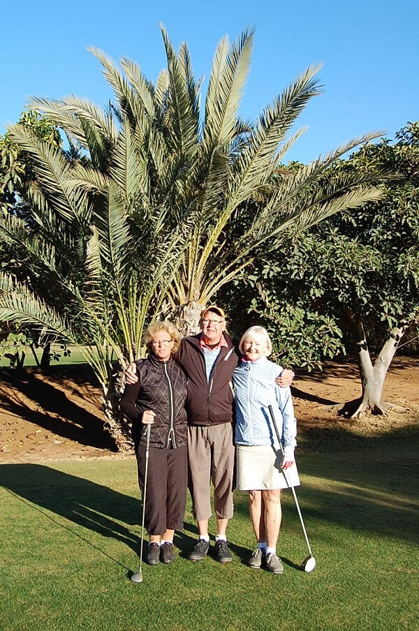 Sista teamet, Elisabeth, Anders och Ingrid.