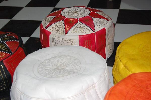 Marockanskt skinn är prisvärt och snyggt , eller hur?