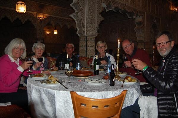 Vi avslutade med en Tagine, chicken with olives and lemon. En lång och innehållsrik dag som verkligen rekommenderas! Over and out från Agadir Marocko. Håkan Eriksson Eastonvärd