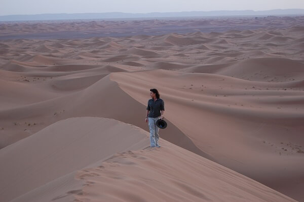 Som kompletterades med Easton Golfs nya resmål Marrakech. Även Atlasbergen och Sahara hann vi med.