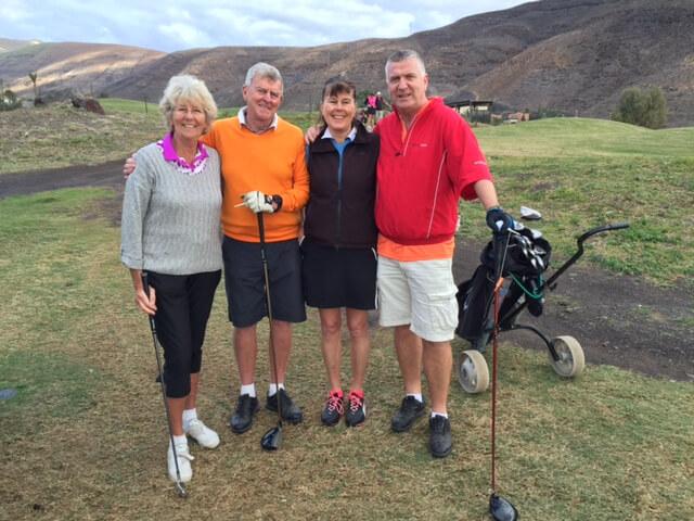 Christina, leif, Anette och Lars