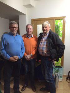 Segrande laget i Easton Classic. Hans, Hans-Göran och Leif.