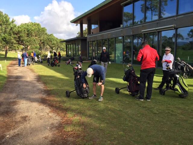 Easton ProAm tävling på Troia Golf.