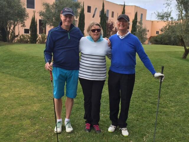 Håkan, Elisabet och Arne vill också prova på den fina Montadobanan.