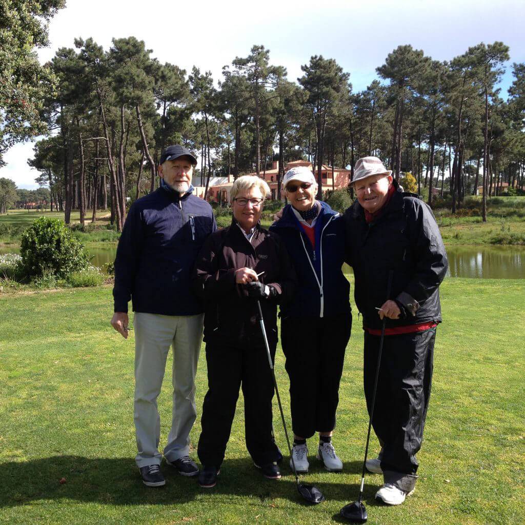Lag 2: Ulf, Helene, Dina & Jan Hakon
