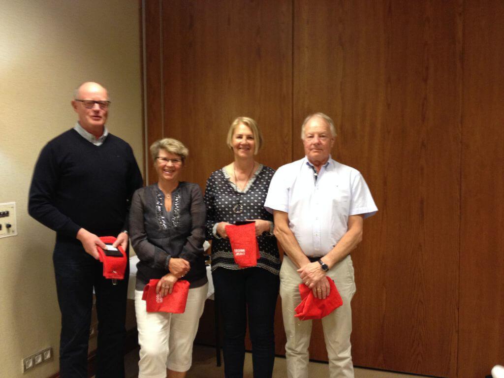 Lag 7 vann Easton Golf Classic Åke, Janet, Monica & Carl-Gustav