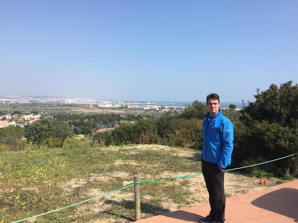 Alan visade mig runt på både Lakes och Hills, med fantastisk utsikt med Tarragona i bakgrunden