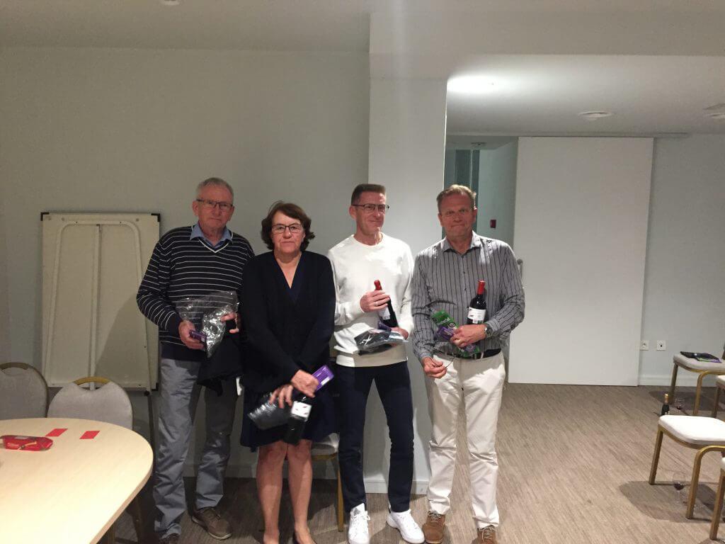 Vinnarna i Easton Classic Christer - Birgitta- Janne - Per-Åke