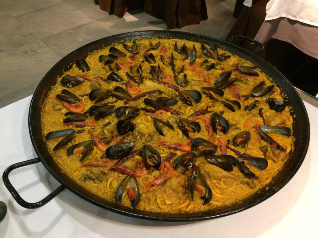Ett måste när man är i Spanien. Paella.