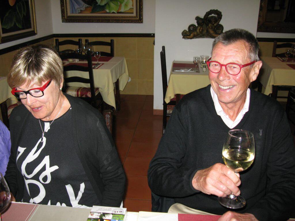 Härliga paret Nils och Gunilla.