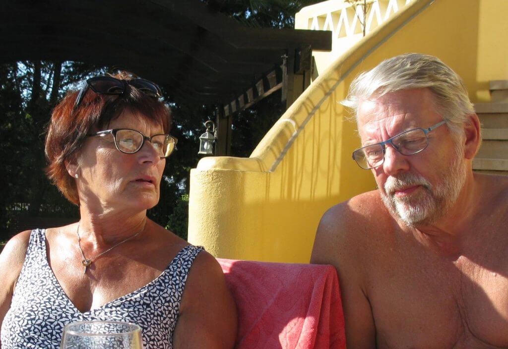 Återkommande gäster: Ingrid och Jan