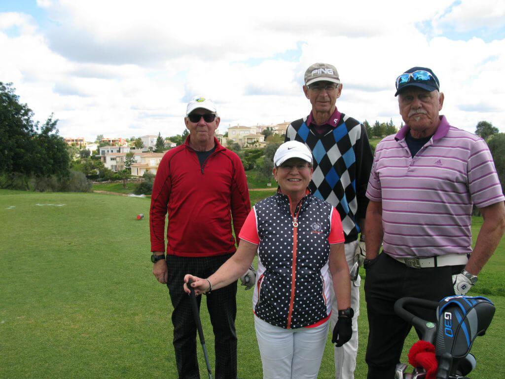 Nils, Åsa, Raimond och Johnny.