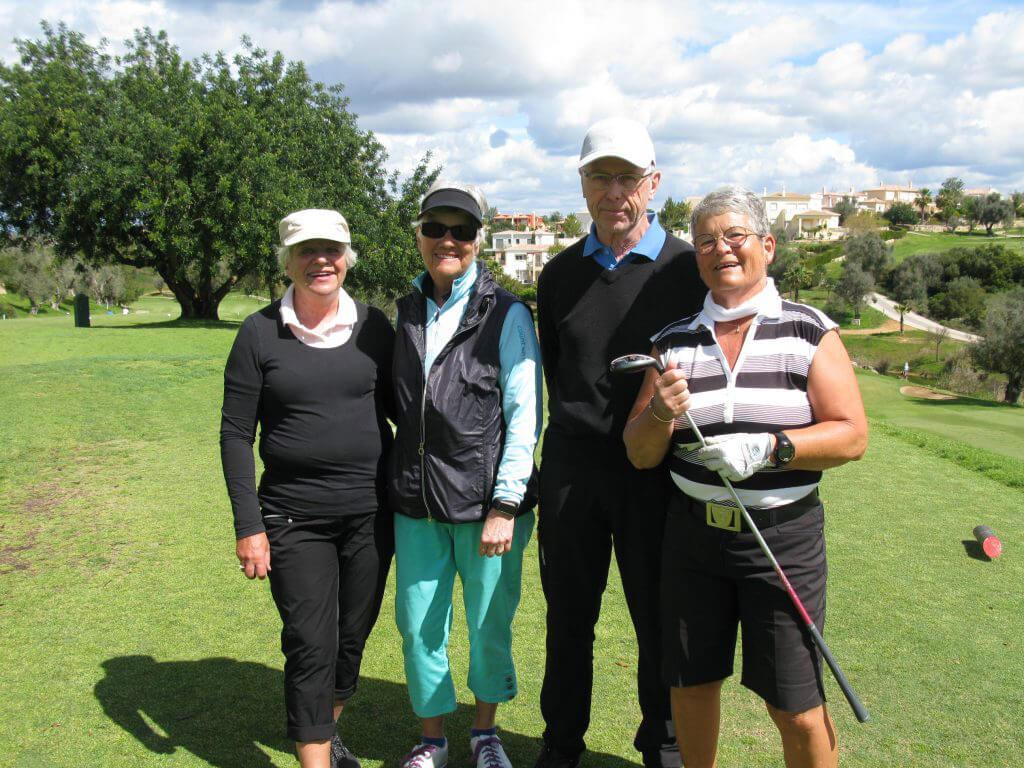 Sista bollen med Anita, Kristina, Jan-Eric och Anita.