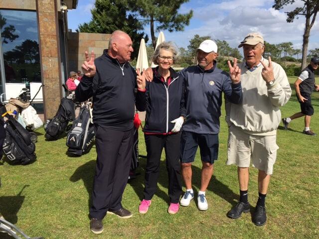 Lag 5. Tommy, Anita, Bengt -Åke och Bo David.