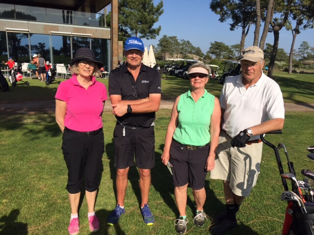 Anita, Göran, Monica och Bo David.