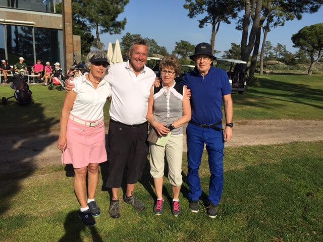 Birgitta, Tommy, Gerd och Lasse.