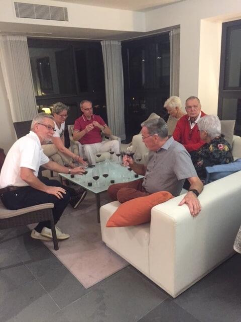 Per-Olof, Monica, Tommy, Margaretha, Bo David, Hadwig och Lars-Erik