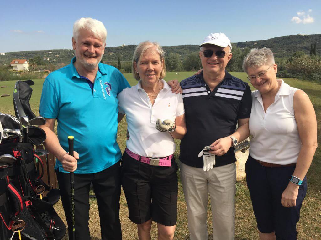 Näst på tur var Per, Lena, Tommy och Maria