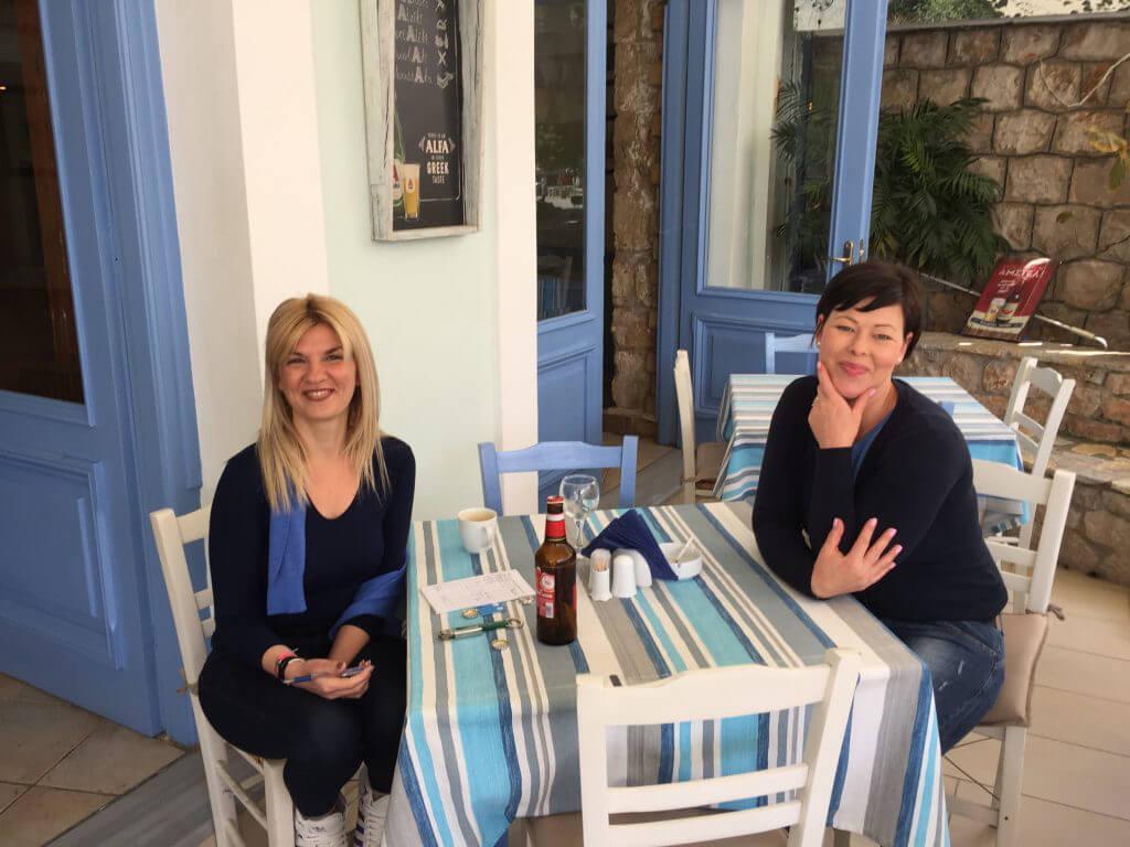 Hej då Vicki och Maria och tack för alla luncher.