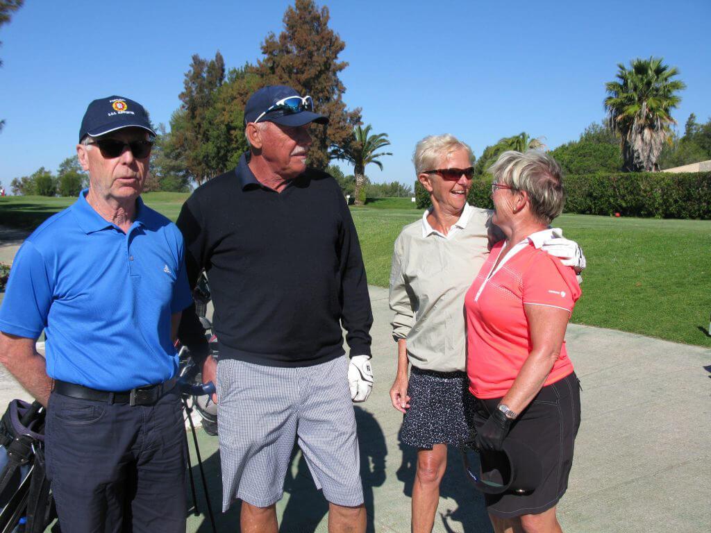 Jan-Eric, Johnny, Leni och Åsa.
