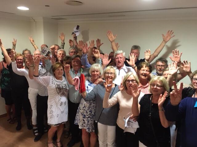 Alla Karlskoga gäster som vill stanna - räcker upp en hand!
