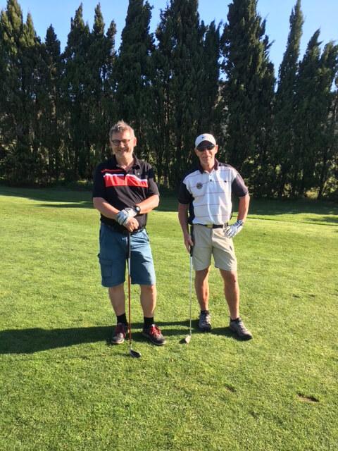 """Bosse och Sven, två deltagare i """"Karlskoga Invitation"""""""