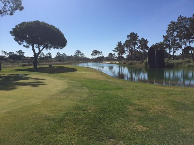 Dags för singeltävling, slaggolf på Troia golfbana.