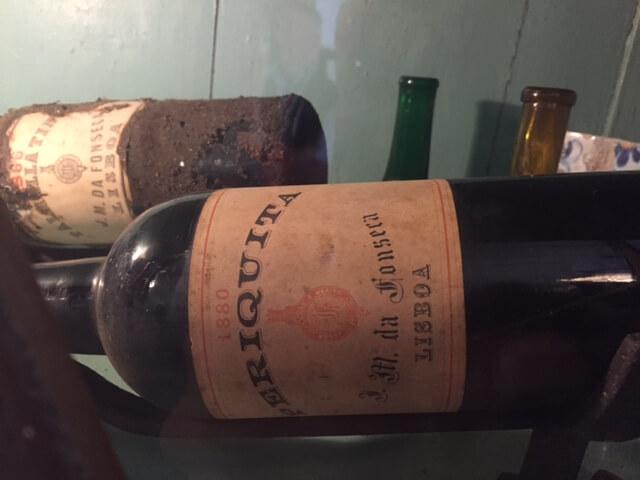 Periquita var det första bordsvinet som tappades på flaska.