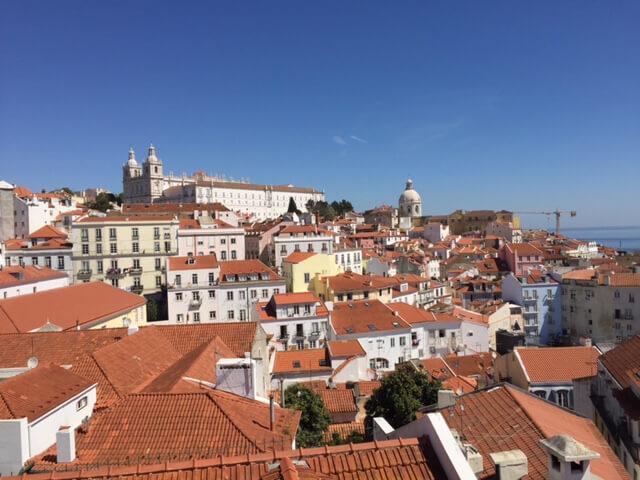 Utflykt till Lissabon i strålande solsken.