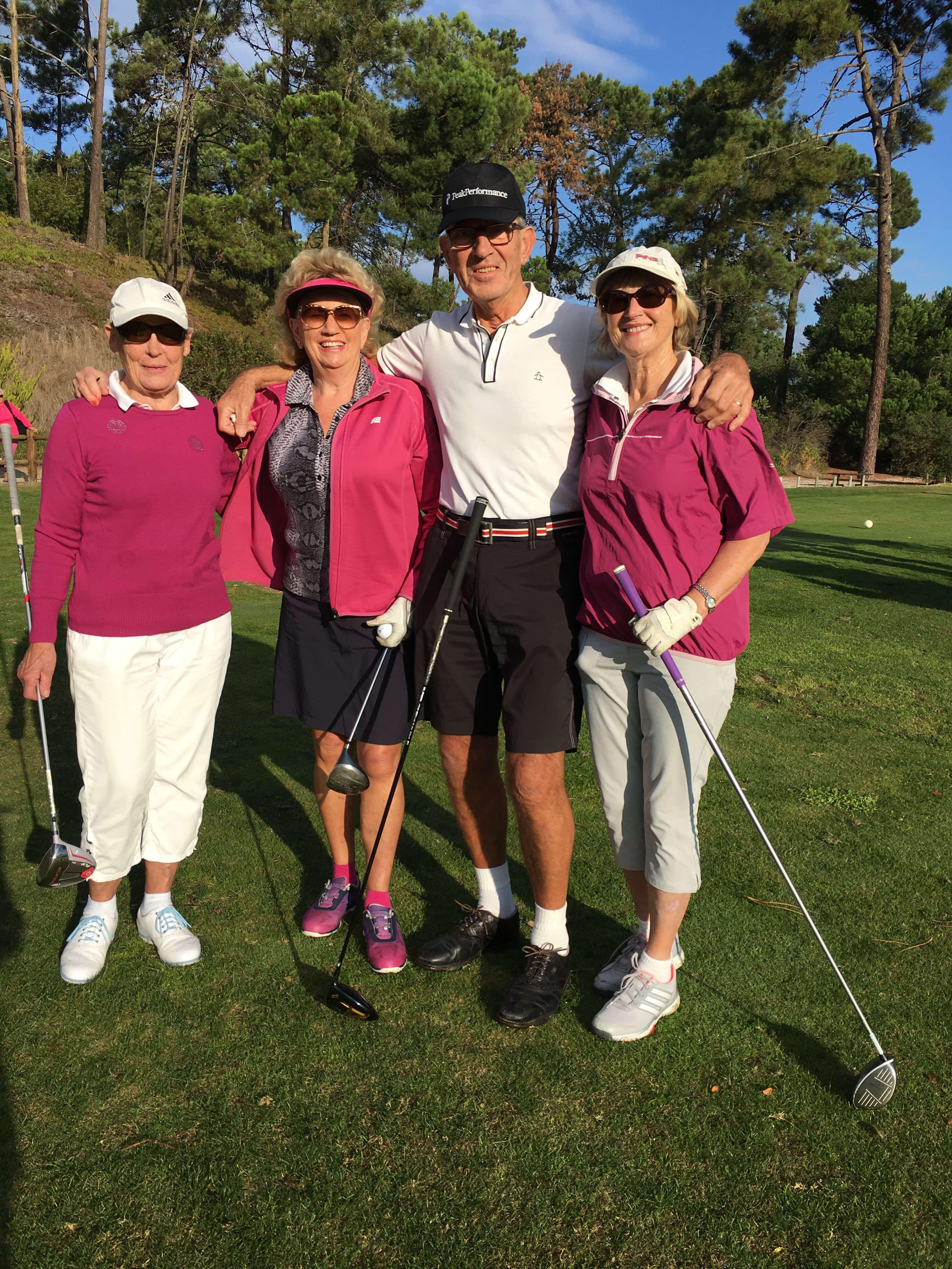 Golf nu trivs lotta igen