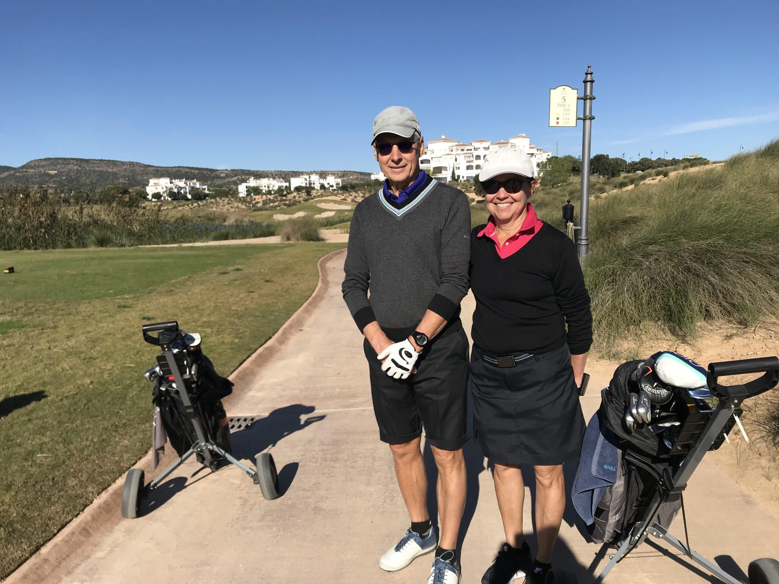 Hans o Jeanette fick sällskap av Niklas Golfvärd